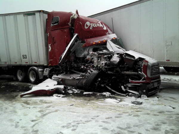 Interstate 80 Accident on 2/25/12