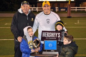 Former Clarion All-American Named High School 'Coach of the Year'
