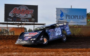 Darrell Lanigan dominated this year's Firecracker weekend at Lernerville