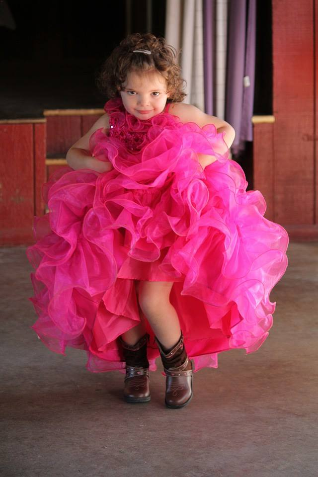 """""""Allison Baumcratz  during the Horsethief beauty pageant. She turns 4 today."""" Submitted by Miranda Baumcratz."""