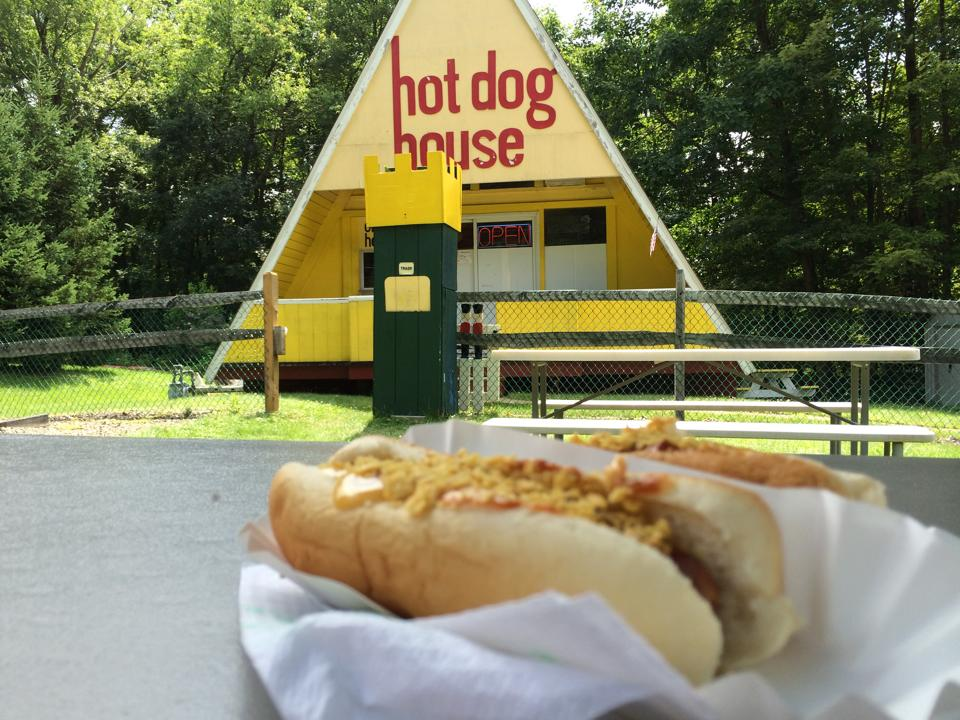 """""""After all these years...He's still here and still serving some delicious dogs."""" Submitted by Kurt A. Jaeger."""