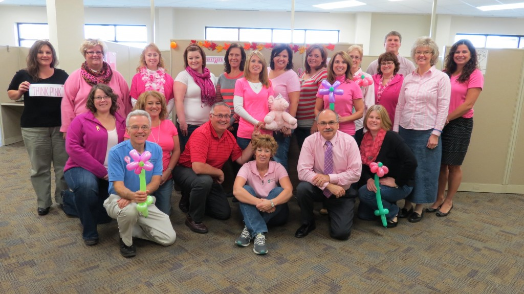 Central Electric Cooperative, of Parker, all wore pink on Friday to show our support of breast cancer awareness.