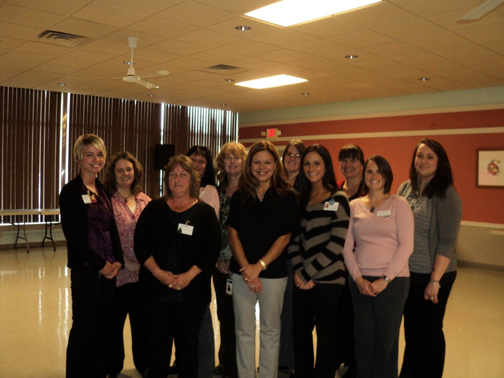 Pictured - members of the Jefferson County GIN from left to right: Cortney Ortz, WRC Senior Services; Cheryl Muders, Jefferson County Area Agency on Aging; Laurie Miller, Helpmates; Carolyn Skaggs, DuBois Village; Halee Kephart, Mulberry Square; Laura Clary, Clare Unlimited; Megan McMurray, Country Springs; Cathy Kramer, Clarview Nursing and Rehab; Callie Lyle, Highland View Healthcare; Jeanie Geer, DuBois Medical Supply; and Barb Poole, Helpmates.