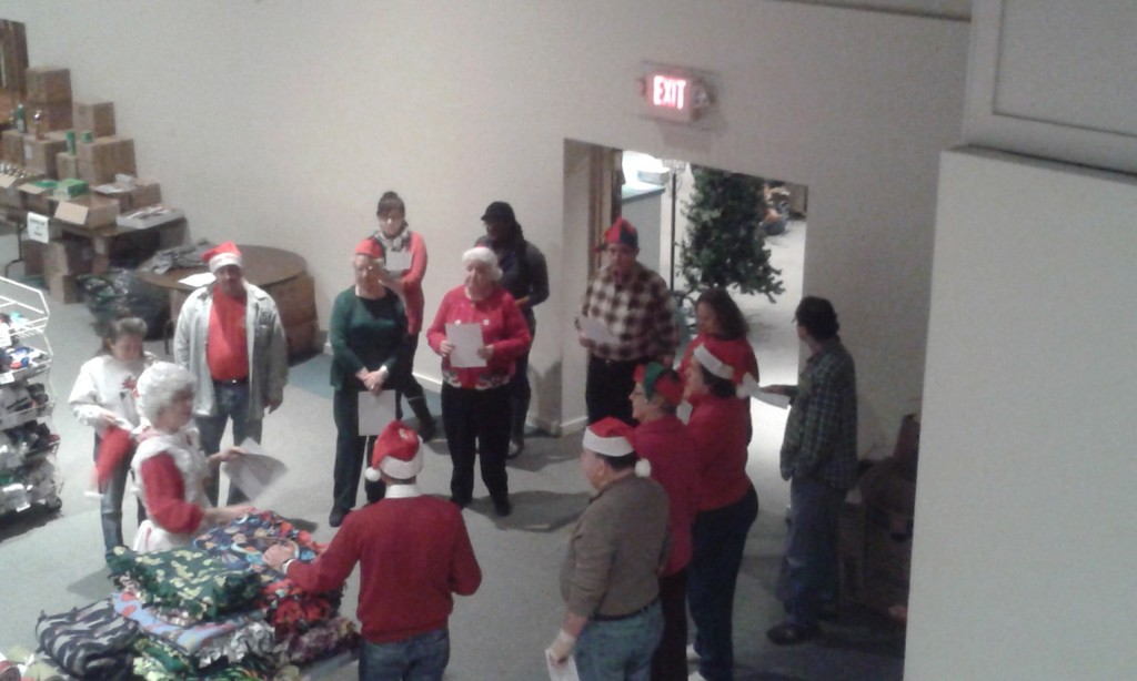 """""""Some volunteers that helped with 'Pennies From Heaven' on December 11 at Zion Church.""""  Submitted by Renee Vowinckel."""