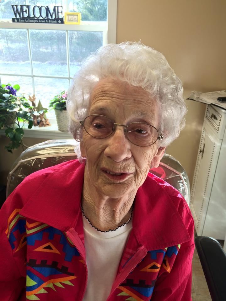 On December 20, 2014, Katherine Styers celebrated her 100th birthday. If you would like to send her a birthday wish, her address is: 716 Servey Road, Clarion, PA 16214.  Submitted by Stacy Hartman-Mahle.