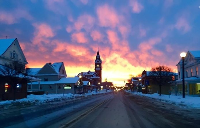 """Just in case anyone missed a glimpse into heaven this morning."" Submitted by Brooke Schwabenbauer."