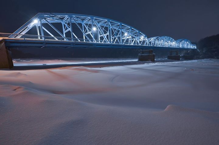 """""""This is the very unique 1,140' long Parker Bridge in Parker, Pa."""" Photo by Chris Litherland Photography ."""