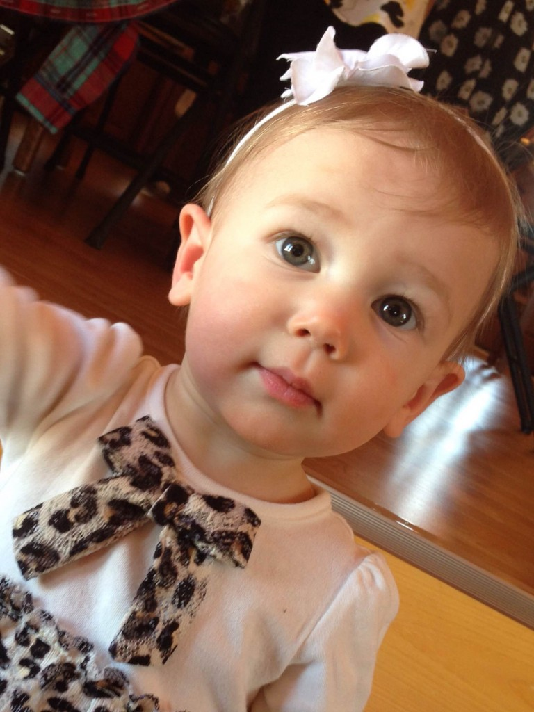 """""""Happy 1st birthday to Adalynne Marie Williams! Addie is the daughter of James and Jennifer Williams of Lucinda.""""  Adalynne celebrated her birthday on Thursday, April 9.  Submitted by Jennifer Williams."""