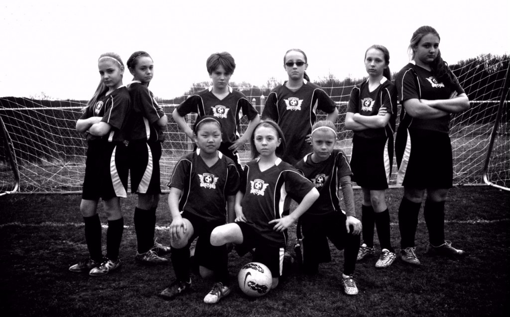 Girls U12 Clarion RIver Valley Strikers Spring 2015
