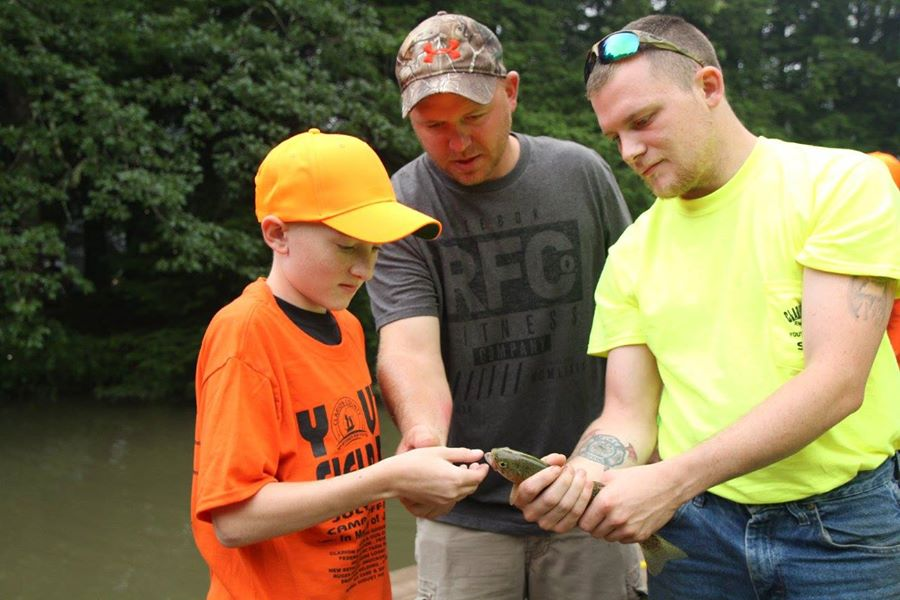 Captured at the 2015 Youth Field Day at Camp Coffman. Photo courtesy Clarion County Sportsmen for Youth.