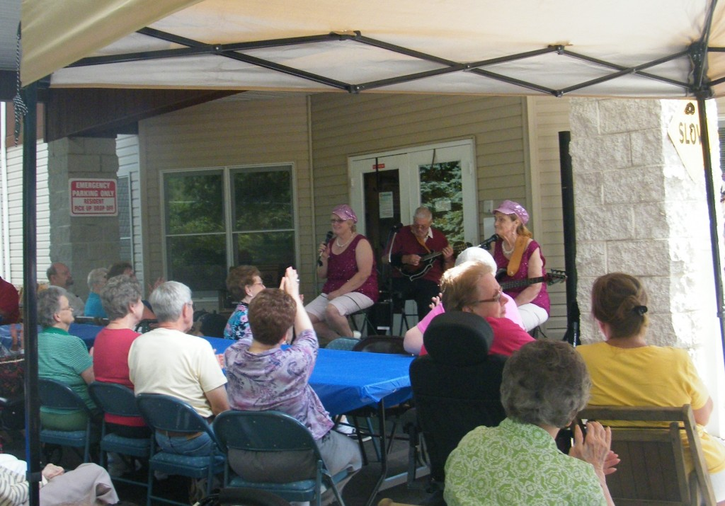 WRC Senior Services' 125th Anniversary celebration at Highland Oaks on July 21, 2015.