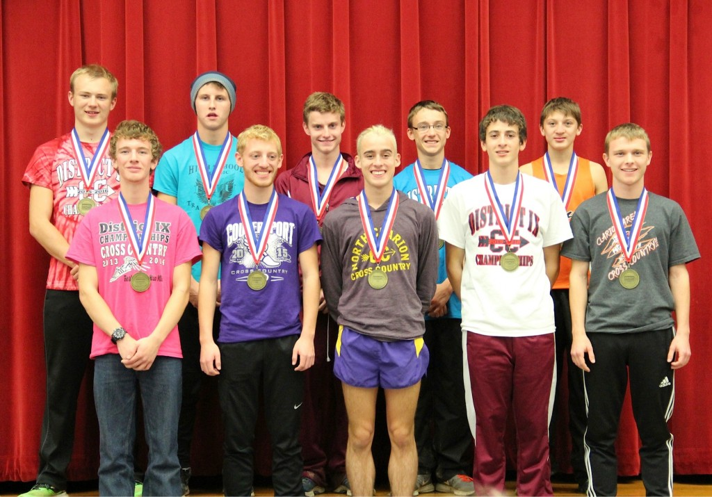 D9 Class-A individual male medalists